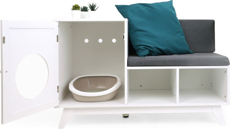 Maison de toilette multi-usages avec banquette Zolia Skipper
