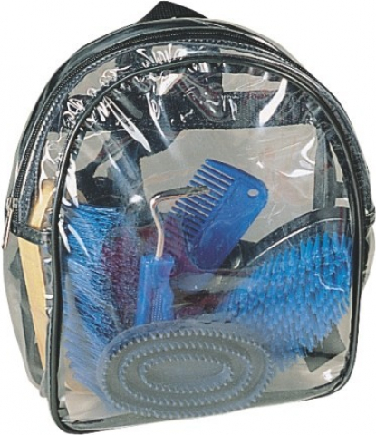 Kit de pansage sac transparent