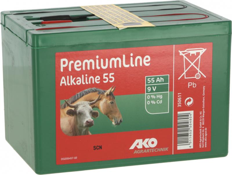 Pilas ALCALINAS 9 voltios