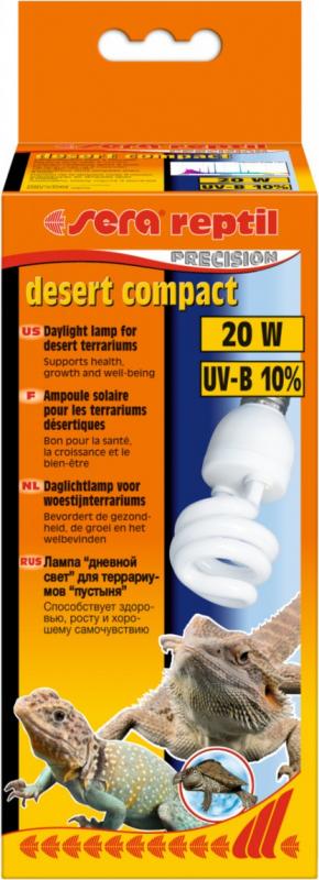 Sera Reptil Precision Desert Compact Ampoule de type désertique