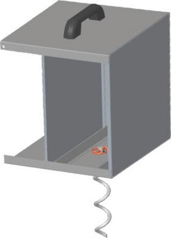Anti-vol pour boîtier métallique