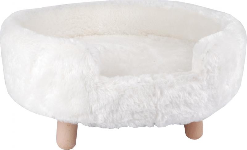 Sofa Dalvy blanc ou gris pour chat