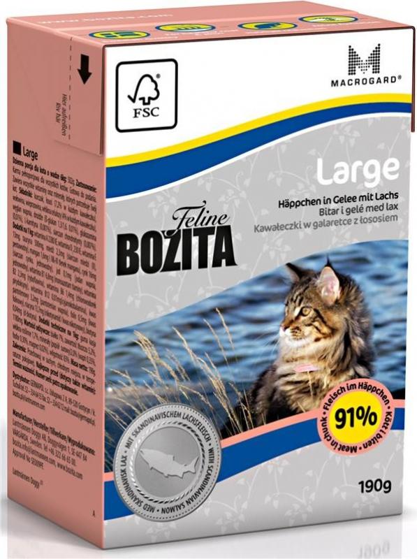 BOZITA Cat Boite en sauce - Plusieurs saveurs