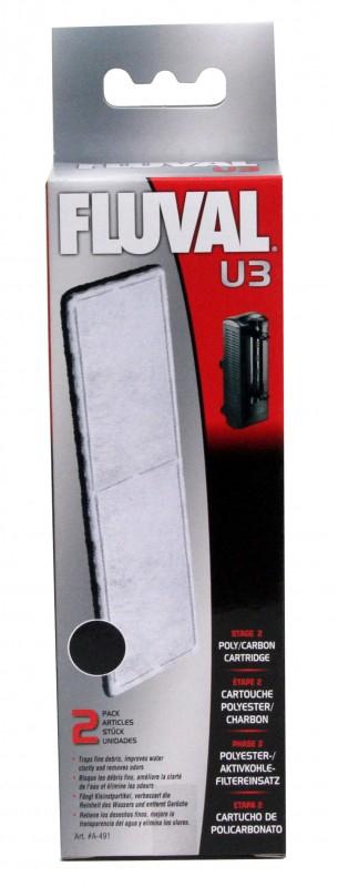 Charbon pour filtre FLUVAL U2/U3/U4