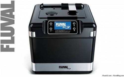 Filtre externe FLUVAL G3 / G6 - nouvelle génération - doté d'un système de surveillace