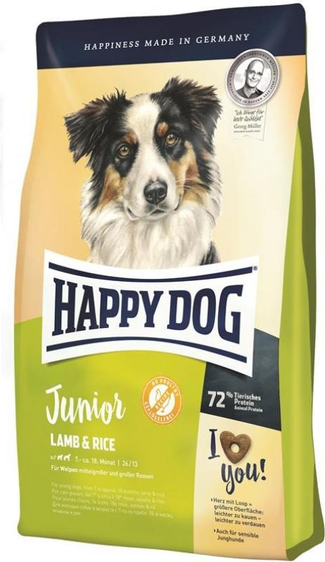 Happy Dog Supreme Junior Agneau & Riz pour jeune chien