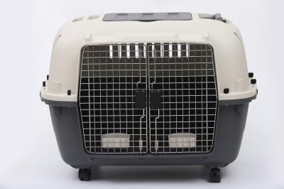 Cage de transport avec roulettes et séparateur pour chien Zolia Bonnie - Conforme aux normes IATA