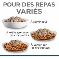 Hill's Science Plan Adult Mijotés Healthy Cuisine Poulet Boeuf pour chien