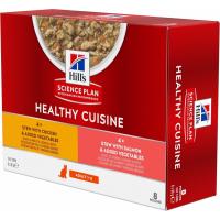 Hill's Science Plan Adult Healthy Cuisine, met kip & zalm