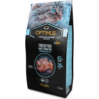 OPTIMUS Fresh Fish Gatto adulto al pesce fresco senza cereali