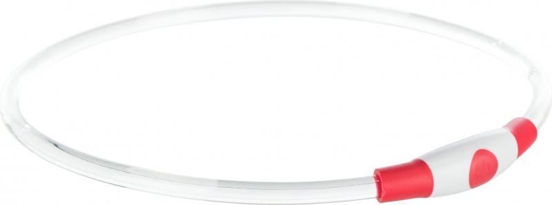 Flash anneau lumineux USB rouge