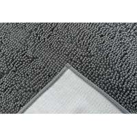 Tapis absorbant anti-saletés gris