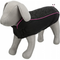 Hudson Pullover für Hunde Schwarz / Rosa - verschiedene Größen erhältlich
