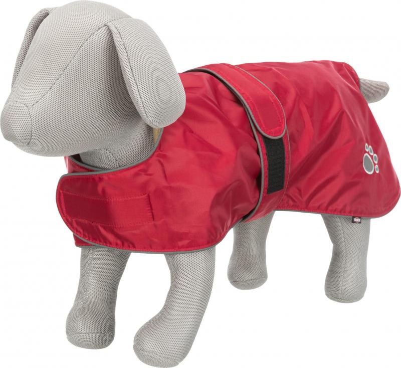 Manteau Orléans rouge pour chien - plusieurs tailles disponibles