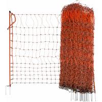 orange, elektrifiszierbare Geflügelnetze