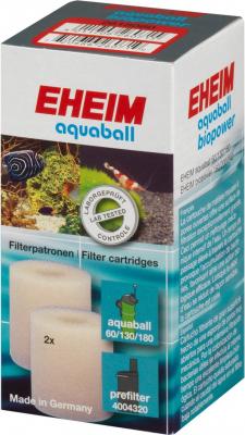 Cartouche de filtration pour filtre EHEIM Aquaball 60 / 130 / 180 et Biopower 160 / 200 / 240