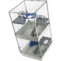 Cage Ferplast Furet Tower deux niveaux pour Furet