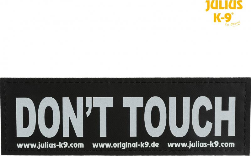 2 Bandas velcro DON'T TOUCH Julius-K9®