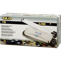 Système d'éclairage GLOMAT T5 pour 2 tubes Glo