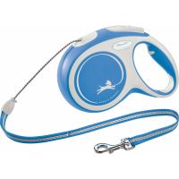 Laisse corde Flexi New COMFORT Bleu