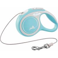 Laisse corde Flexi New COMFORT Bleu clair