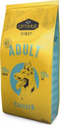 OPTIMUS First pour chien adulte de moyenne et grande taille
