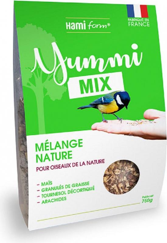 HAMIFORM Yummi mix - Mélange nature pour oiseaux du ciel