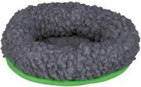 Cama macia para roedores - verde / cinza