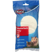 Lit hamster Wooly blanc