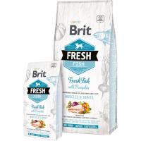 Brit Fresh au Poisson frais et Citrouille pour chien adulte de grande taille