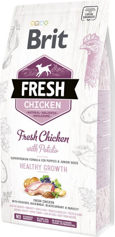 Brit Fresh au Poulet frais avec Pomme de Terre pour chiot