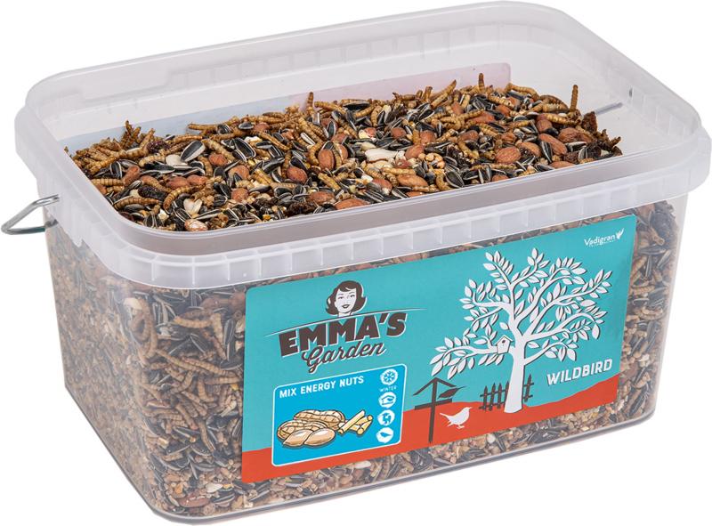 Mélange oiseau du ciel Emma's Garden Mix Insect & fruit - Plusieurs conditionnements disponibles