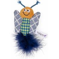 Knuffel voor katten Vadigran Fancy vlinder 12cm
