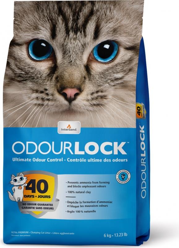 Litière odour lock non parfumé pour chat