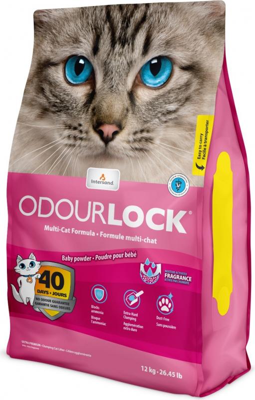 Litière odour lock pour chat - 3 parfums au choix