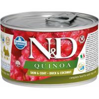 FARMINA N&D Quinoa Canard & Noix de coco pour chien