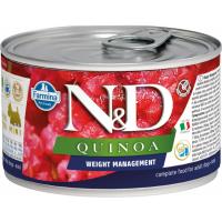 FARMINA N&D Quinoa Weight Management pour chien