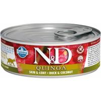 FARMINA N&D Quinoa mit Ente & Kokosnuss für Katzen 80 g