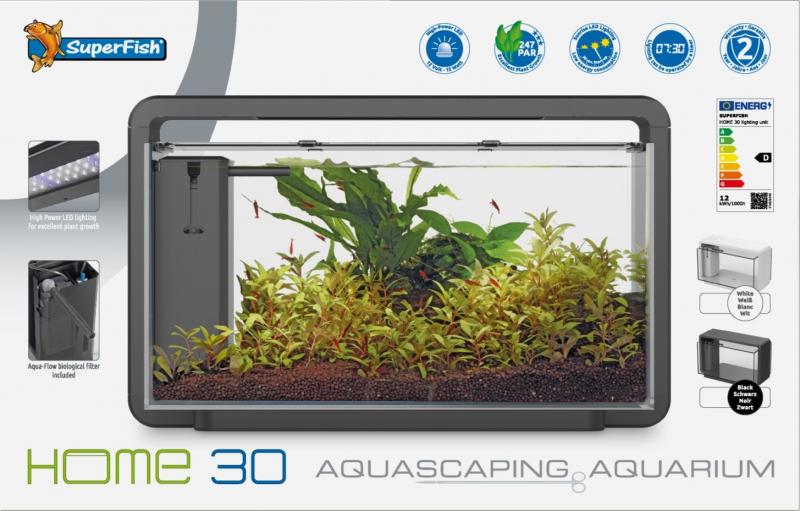 Aquarium SF HOME 30 - 2 couleurs, 25l