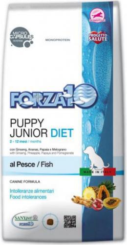 FORZA10 Diet Puppy Junior au Poisson pour chiot
