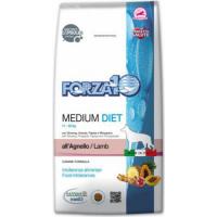 FORZA10 Diet Medium Diet à l'Agneau pour chien adulte