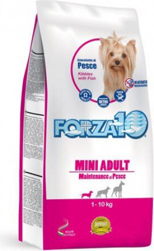 FORZA10 Maintenance Mini au Poisson pour chien adulte