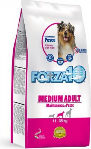 FORZA10 Maintenance Medium au Poisson pour chien adulte