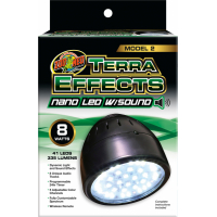 ZooMed Terra Effects Lampe Nano Led sonore pour terrarium