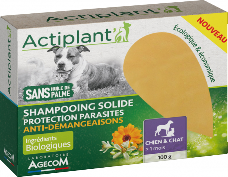 Shampoing Solide Anti Démangeaisons