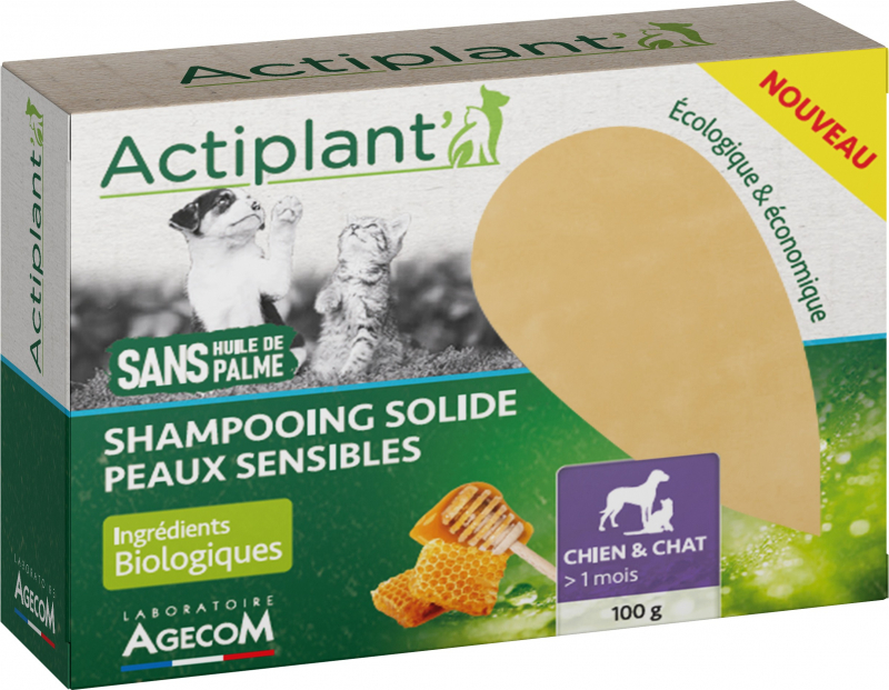 Shampoing Solide Peaux Sensibles