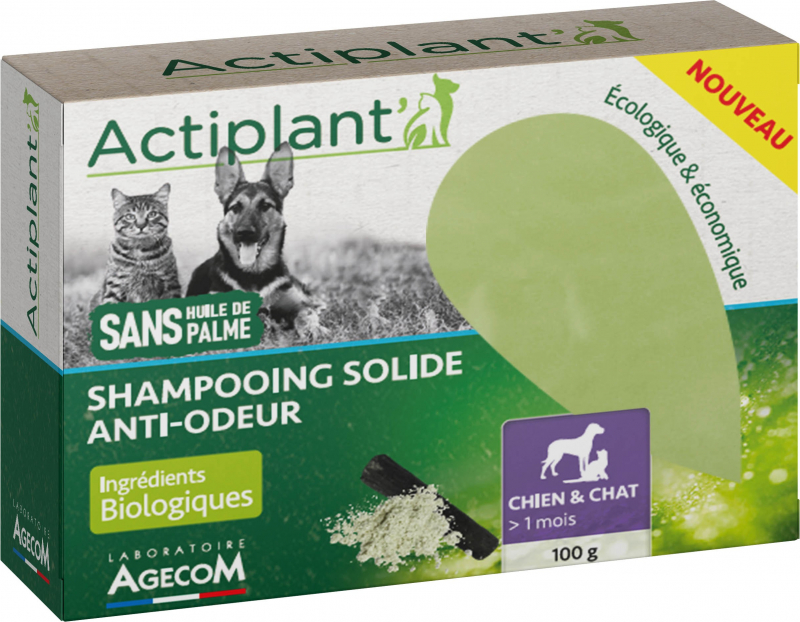 Shampoing Solide Anti-Odeur