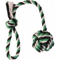 Jouet corde avec balle pour chien ø 7 cm/50 cm