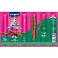 VITAKRAFT Cat-Stick mini - Guloseimas para gatos - vários sabores disponíveis