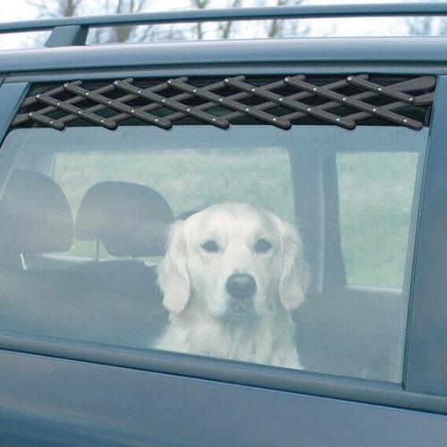 Grille d 39 a ration pour voiture transport du chien en voiture - Grille pour chien en voiture ...
